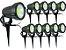Kit 10 Luminaria Espeto Bivolt Alto Brilho Lançamento 7w - Imagem 5