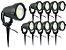 Kit 10 Luminaria Espeto Bivolt Alto Brilho Lançamento 7w - Imagem 8