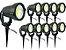 Kit 10 Luminaria Espeto Bivolt Alto Brilho Lançamento 7w - Imagem 1