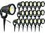 Kit 20 Luminária Com Luz De Alto Brilho Super Forte Espeto de Jardim Led 5w 110v 220v - Imagem 1