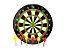 Jogo de Dardos Magnético Tabuleiro Alvo De 34CM Com 6 Dardos Coloridos Para Salão de Jogos - Imagem 3
