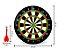 Jogo de Dardos Magnético Tabuleiro Alvo De 34CM Com 6 Dardos Coloridos Para Salão de Jogos - Imagem 2