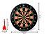 Jogo de Dardos Magnético Tabuleiro Alvo De 34CM Com 6 Dardos Coloridos Para Salão de Jogos - Imagem 5