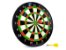 Jogo de Dardos Magnético Tabuleiro Alvo De 34CM Com 6 Dardos Coloridos Para Salão de Jogos - Imagem 1