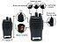 Kit 6 Walkie Talkie Rádio Comunicador Profissional Baofeng BF777S Fone de Ouvido 16 Canais Rádio FM - Imagem 2
