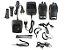 Kit 10 Walkie Talkie Rádio Comunicador Profissional Baofeng BF777S Fone de Ouvido 16 Canais Rádio FM - Imagem 6