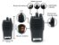 Kit 8 Walkie Talkie Rádio Comunicador Profissional Baofeng BF777S Fone de Ouvido 16 Canais Rádio FM - Imagem 2