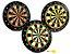 Kit 3 Jogos de Dardos Tabuleiro Magnético Alvo de 34CM Com 9 Dardos Coloridos Para Salão de Jogos - Imagem 1