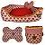 kit de cama, cesto brinquedos e tapete comedouro LOVE - Imagem 1
