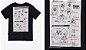 T-Shirt Manga Curta Preta - YOUCCIE - Imagem 4