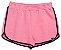 Shorts Moletom Rosa Neon com Amarrador - IAM AUTHORIA  - Imagem 2