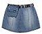 Shorts-Saia Jeans com Pochete - IAM AUTHORIA - Imagem 1