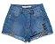 Short Jeans com Tela - IAM AUTHORIA - Imagem 1