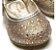 Sapato Primeiros Passos Angel com Rebites Dourada - Pampili - Imagem 2