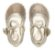 Sapato Primeiros Passos Angel com Rebites Dourada - Pampili - Imagem 4