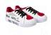 Tênis Luna Love Branco e Vermelho - Pampili - Imagem 1