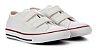Tênis Canvas Velcro Branco - Diversão - Imagem 1