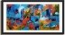 Quadro Decorativo Pintura Favelas - Imagem 3