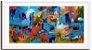 Quadro Decorativo Pintura Favelas - Imagem 2