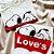 T-shirt Top Snoop Loves Branca - Imagem 1