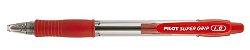 Caneta Esferográfica Super Grip 1.6 Vermelha - Pilot - Imagem 1