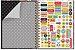Caderno Colegial - Fiore - 200 folhas - Fina Ideia - Imagem 2