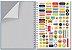 Caderno Universitário - Corações Holográficos - 96 folhas - Fina Ideia  - Imagem 2