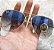 Óculos RB Aviador Azul Degradê - Imagem 1
