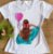 T-shirt menina com balão - Imagem 1