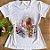 T-shirt menina na banheira - Imagem 1