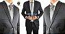 Terno Slim Masculino CHUMBO 10 Microfibra Corte Italiano - Imagem 1
