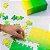 Gradient Puzzle Pequeno - 100 peças (Green/Yellow) - Imagem 1
