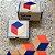 Table tiles (Red/Blue) - Imagem 2