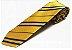 Gravata Amarela listrada - Imagem 1