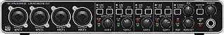 Interface De Áudio Behringer UMC404HD USB - Imagem 17