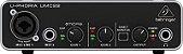 Interface De Áudio Behringer UMC22 Pré Midas - Imagem 1