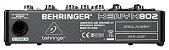 Mesa de Som Mixer Behringer 8 Canais Xenyx 802 110V - Imagem 4
