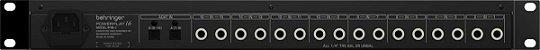 Processador De Sinal Behringer Powerplay P16 Bivolt - Imagem 3