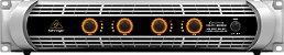 Amplificador de Potência Behringer  Inuke NU4-6000 6000W  220V - Imagem 1