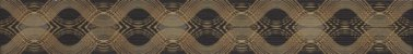 DUNE LISTEL ITACA GOLD 10X75 CM - Imagem 1