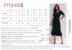 Vestido Curto Cavado Flor do Café - Ref.:100838 - Imagem 5