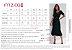 Vestido Secretário Listrado Humor - Ref.:101934 - Imagem 4