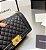 "Bolsa Chanel Boy Caviar Leather ""Black&Gold"" - Imagem 3"