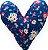 Almofada Coração - Auxilia no Tratamento - Imagem 1