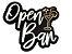 Luminária Open Bar 29cm x 20cm (Bateria 9V) - Imagem 1