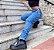 Calça Jeans Correntes Lateral  - Imagem 5