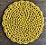 Jogo Americano de crochê Amarelo - Imagem 1