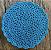 Jogo Americano de crochê Azul - Imagem 1