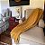 Manta para sofá em Algodão Mostarda Nina - Imagem 2