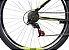 BICICLETA 29 CALOI VELOX V-BRAKE  TAM 17 PRETO/VERDE A20 - Imagem 4